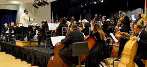 Maestro Robert Navarro Conducting The Treasure Coast Symphony Orchestra