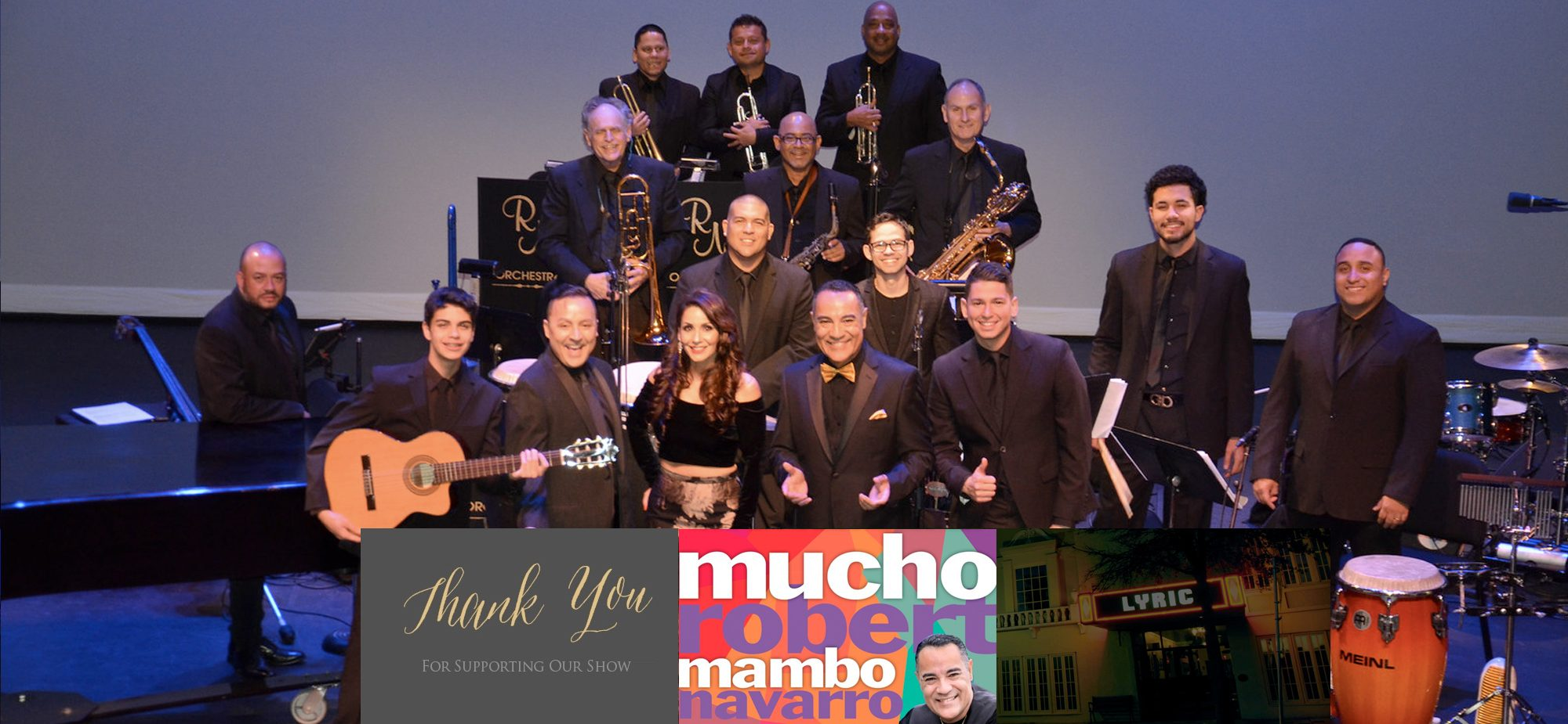 Thank You For A Great Mucho Mambo Show